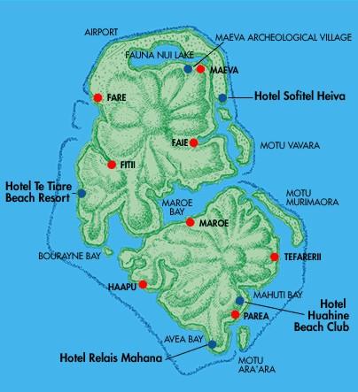 huahine-carte