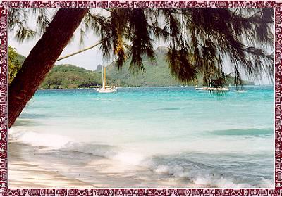 Bahía de Vaitepiha, Tautira, Tahiti
